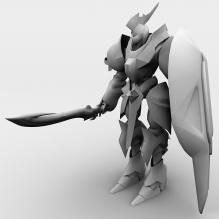 机器人-人物_角色-角色-CG模型-3D城