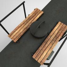 储油罐-室外建筑-基础设施-CG模型-3D城
