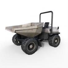 特雷克斯小型自卸车-CG模型-3D城