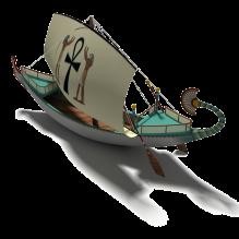 Hatsepshut's Ship-船舶-其它-CG模型-3D城