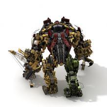 168变形金刚大力神-人物_角色-角色-CG模型-3D城