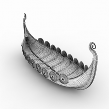 Viking Ship-船舶-其它-CG模型-3D城