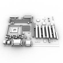 主板-电子产品-电脑-CG模型-3D城