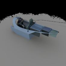 飞机驾驶舱-飞机-飞机部件-CG模型-3D城