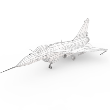 歼10-B-飞机-军事飞机-CG模型-3D城