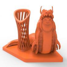 星际争霸怪物笔筒-家居生活-3D打印模型-3D城