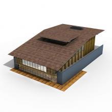 住宅楼建筑-室外建筑-住宅-CG模型-3D城