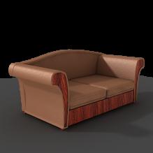 皮沙发 -家居-沙发-CG模型-3D城