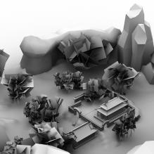 诛仙青云地区-室外建筑-古建筑-CG模型-3D城