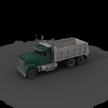 Mack Dumper 卡车-汽车-卡车-CG模型-3D城