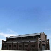 仓库库房-室外建筑-工业_厂房-CG模型-3D城