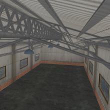 仓库-室外建筑-工业&厂房-CG模型-3D城