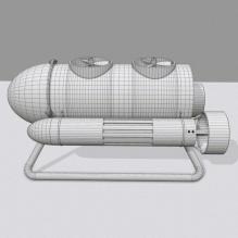 迷你水下探测器-科技医疗-其它-CG模型-3D城