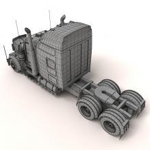 卡车头-汽车-卡车-CG模型-3D城