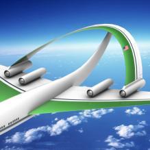 美国未来客机-飞机-CG模型-3D城