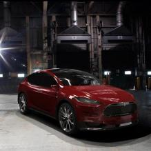 特斯拉 Model X-汽车-suv-CG模型-3D城