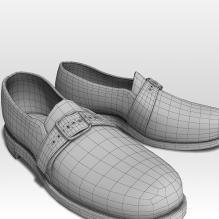 皮鞋-生活办公用品-服装饰品-CG模型-3D城