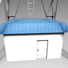 通讯塔-室外建筑-基础设施-CG模型-3D城