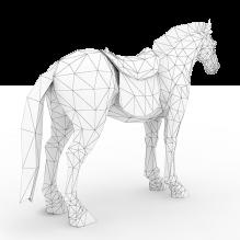 赤壁战马-动物-哺乳动物-CG模型-3D城