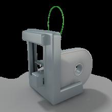Cube(3D Systems) 3D打印机-生活办公用品-办公用品-CG模型-3D城