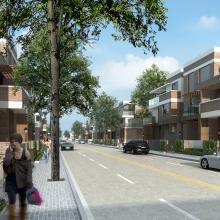 街道-室外建筑-基础设施-CG模型-3D城
