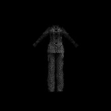 睡衣-生活办公用品-服装饰品-CG模型-3D城