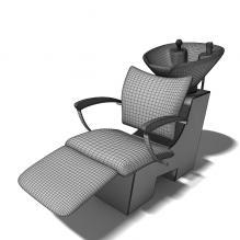 洗发躺椅-家居-桌椅-CG模型-3D城