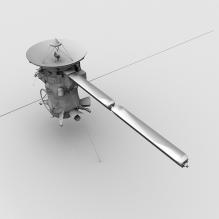 Cassini探测器-科技医疗-航天卫星-CG模型-3D城