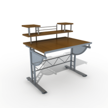 电脑桌-工业设备-工具-CG模型-3D城