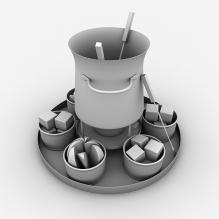 烹调用具-食品-杂食-CG模型-3D城