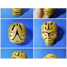 镂空骷髅-游戏_玩具-3D打印模型-3D城