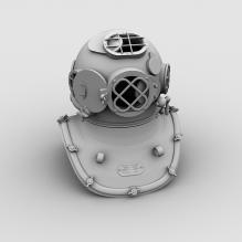 头盔-军事_武器-盔甲-CG模型-3D城