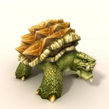 乌龟-动物-科幻-CG模型-3D城