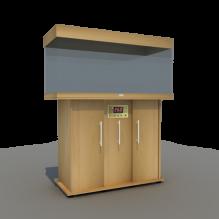 鱼缸柜-家居-柜子-CG模型-3D城