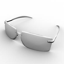 太阳镜-生活办公用品-服装饰品-CG模型-3D城