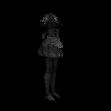 可爱连衣裙-生活办公用品-服装饰品-CG模型-3D城