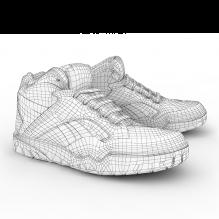 运动鞋-生活办公用品-服装饰品-CG模型-3D城
