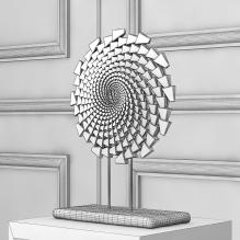 现代金属雕塑-艺术-艺术品-CG模型-3D城