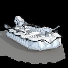 皮艇-船舶-其它-CG模型-3D城