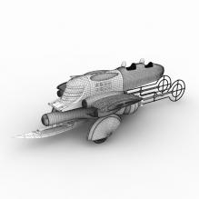 Last Exile Vanship-飞机-私人飞机-CG模型-3D城