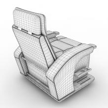 高级扶手椅-家居-沙发-CG模型-3D城