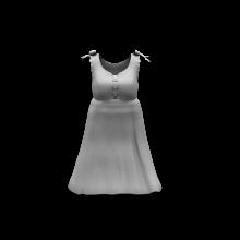 绿色连衣裙-生活办公用品-服装饰品-CG模型-3D城