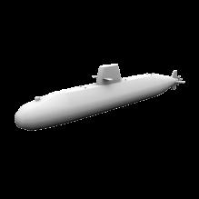 潜艇-船舶-其它-CG模型-3D城