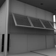 别墅一角-室外建筑-住宅-CG模型-3D城