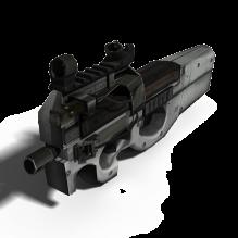 武器-军事_武器-枪-CG模型-3D城