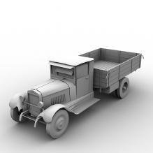 ZIS5 货车-汽车-卡车-CG模型-3D城