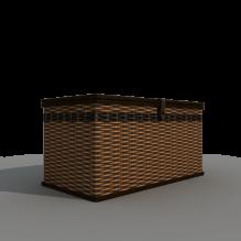 藤编存储箱-家居-其它-CG模型-3D城