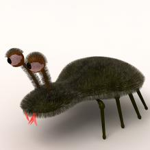虫子-动物-科幻-CG模型-3D城