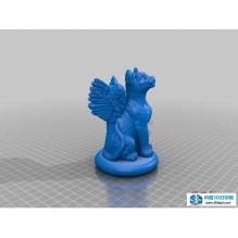 飞天猫3D模型 stl文件