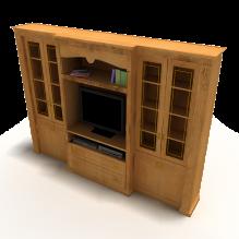 电视柜-家居-柜子-CG模型-3D城